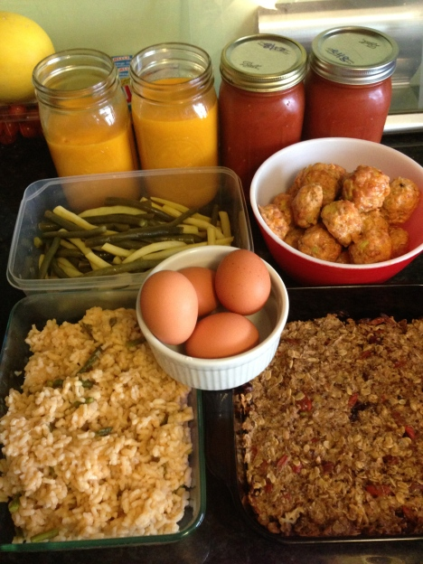 Feb 17 2012 ~ Food Prep