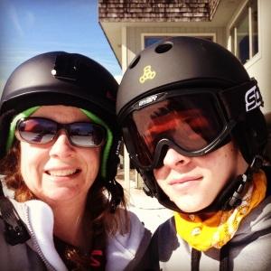 Ski day w/my son @ Big Boulder, PA