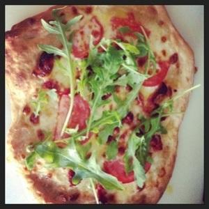 Sun Dried Tomato & Arugula Pizza