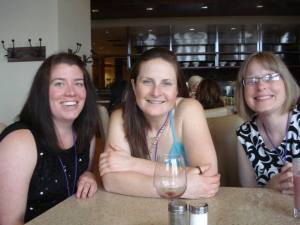 Leslie, Becca & Arlene