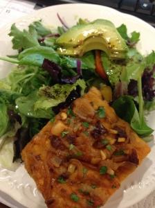 Focaccia & Salad